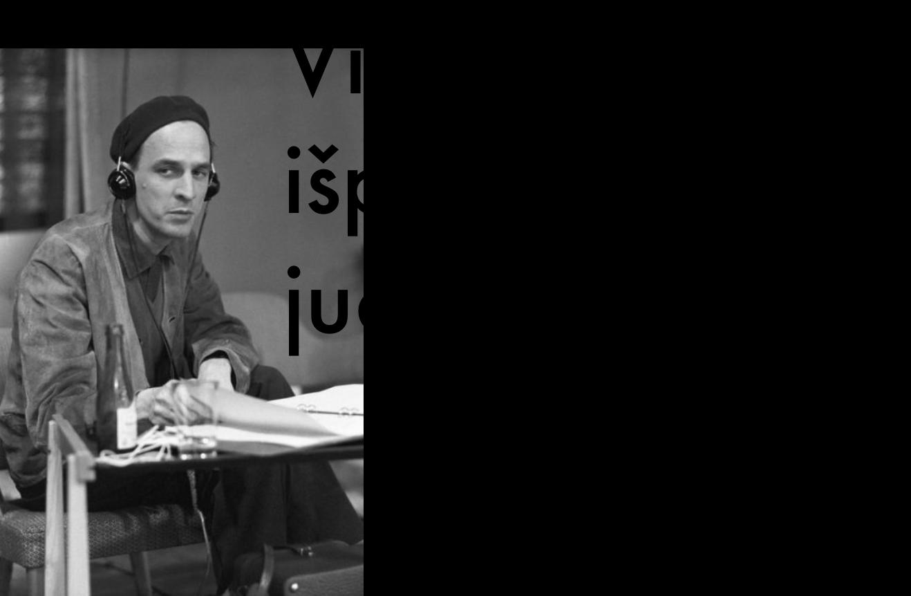 baltas kambarys ignas Bergmanas