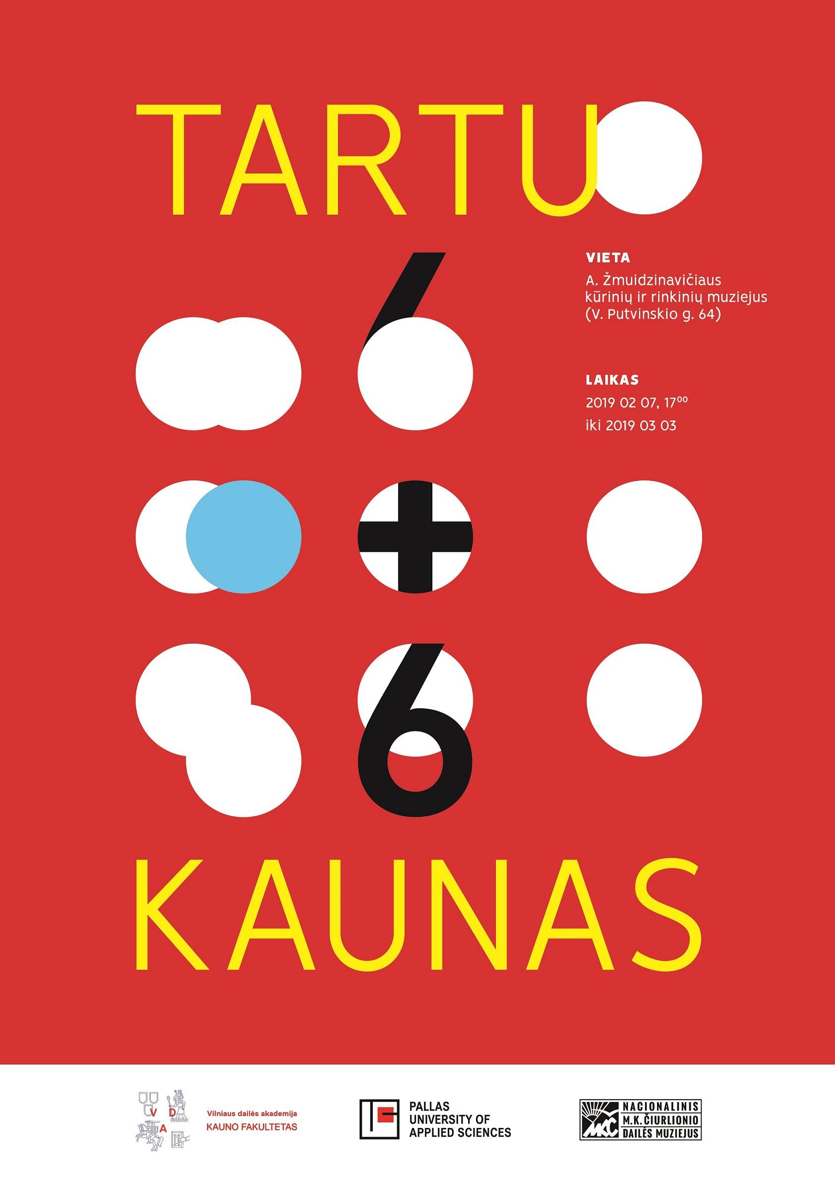 Tartu6+6Kaunas_Plakatas